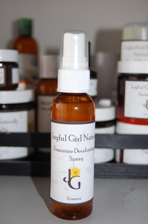 Natural Healing Feminine Deodorant Spray