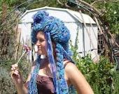 Marie Antoinette Yarn and Ribbon Head Dress