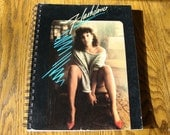 SALE - Flashdance Recycled Record Album Journal Notebook