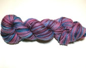 Garnets and Sapphires, gorgeous hand-dyed yarn