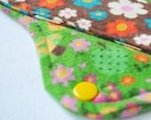 Give a Hoot - LARGE Cloth PUL Pad Organic Hemp Fleece, 10in
