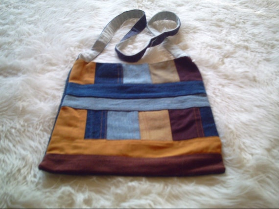 Pieces Of Denim  Bag