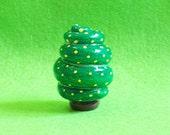 Mini Movable Tree - B, polymer clay tree, dollhouse tree, miniature tree, home decor tree, shelf decor, clay tree