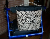 Walker Bag Tote - Leopard Print