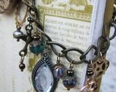 Prof. Roesia Wheatear Knowlan's Steampunk Charm Bracelet