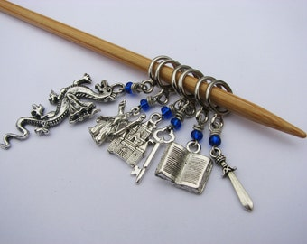 World of Warcraft - Non-Snag Stitch Markers