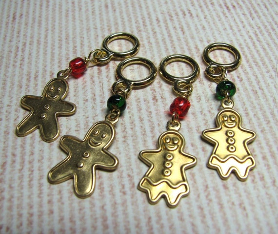 Gingerbread Cookie Stitch Markers