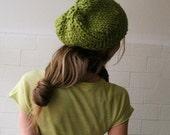 Spring Green Chunkier Hat