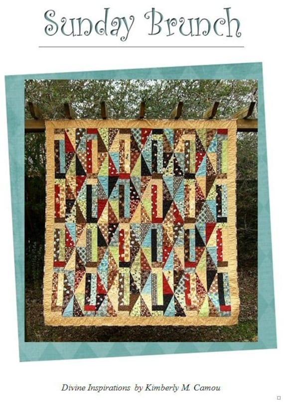 Sunday Brunch Quilt Pattern