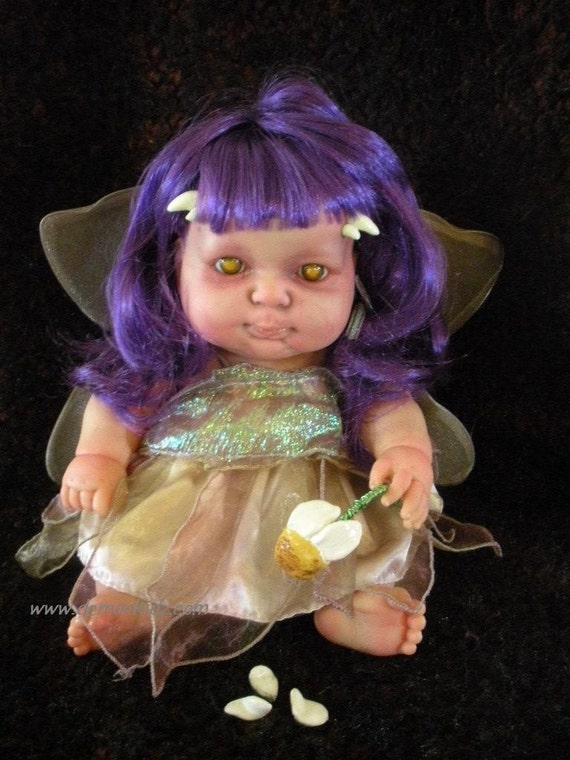 Frustration Fae OOAK Custom Demon Horror Doll Fairy
