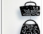 Not Without My Handbag Silhouette Mobile - Sale