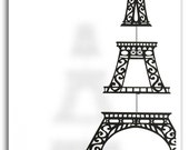 Eiffel Tower Silhouette Mobile-Sale