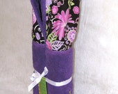 Orchid Michael Miller Designer Fabric Purple Hooded Towel Personalization Included