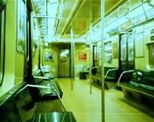 on the B train, NYC