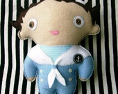 RESERVED - Sailor Boy Oogabooga Plush Toy