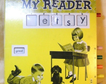 My Reader By Placo Toys 1967