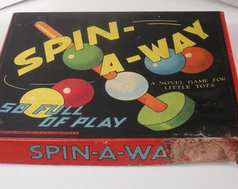 Spin-A-Way Game by Advance Games Inc NY