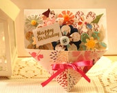 Happy Birthday Bouquet Flower Card