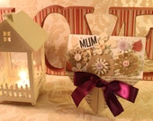 Mum Bouquet of Flowers Card