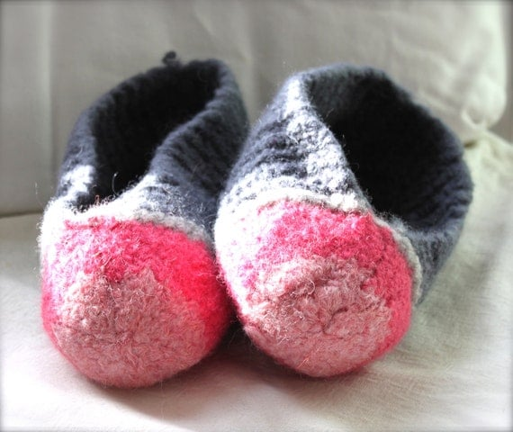 Felted Slippers Women's Size 5-7.5