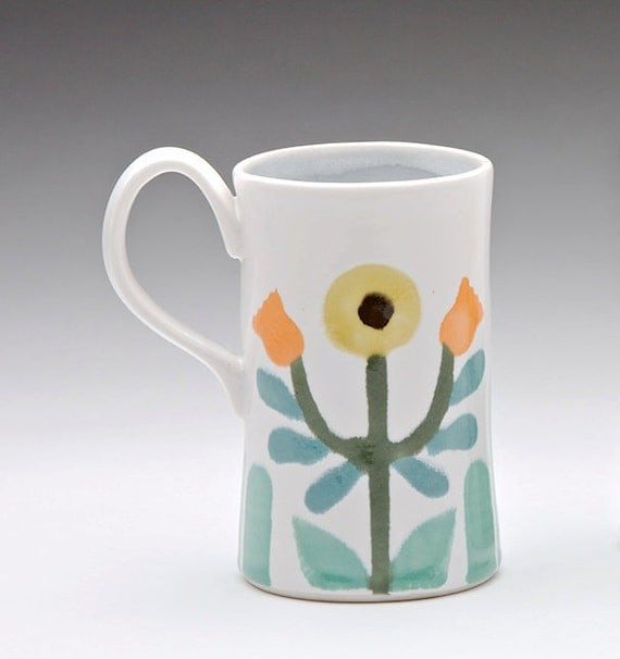 Sunflower Folk Mug: sale