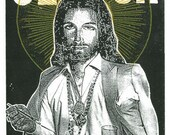 Clutch Party Jesus Screen Print Concert Poster by Print Mafia