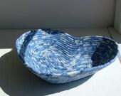 MY BLUE HEART Fabric Basket