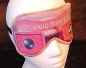 Sleep Mask FREAK Them Out Bad Dreams For You Viewmaster Viewmonster Eye Blindfold