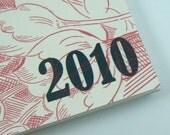 2010 Spiral Bound Half Page Weekly Planner \/ Calendar (Wallpaper)