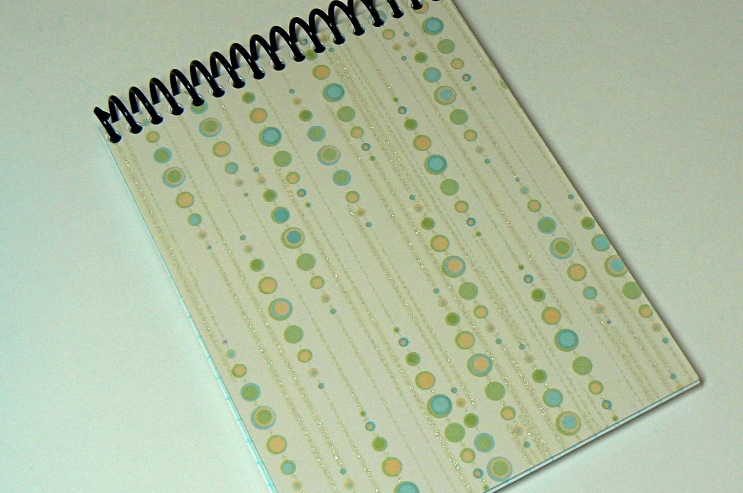 cosmic icicles spiral bound graph notebook    journal