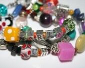 NEW DESIGN Funky Mothers/Grandmothers Name Wrap Bracelet
