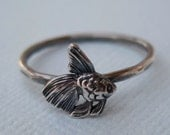 Tiny Fish Stacking Ring