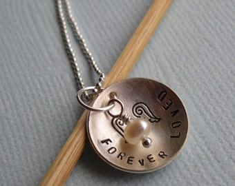 Mama's Angel Necklace