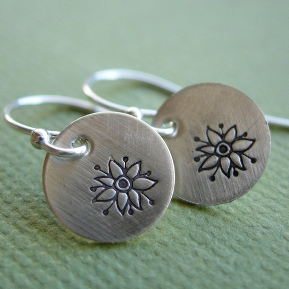 Tiny Flower Earrings