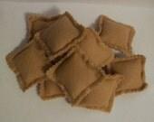 SALE Felt Ravioli - Wheat