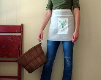 Chives Linen Cafe Apron