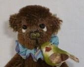 Hayden, A One of A Kind (OOAK) 3 inch Mohair Bear