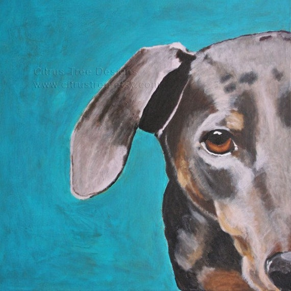 Painting Blue Dog Blue Dog Dog Painting