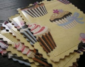 Too Cute Cupcake Coasters - Set of Six
