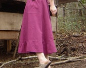Hemp Organic Cotton The Amelia Skirt Made to Order