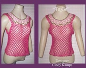 TO GO Tank Top Crochet Pattern by Cindy Kamps