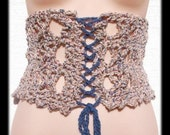 Cathedral Corset Crochet Pattern PLUS Free Bonus