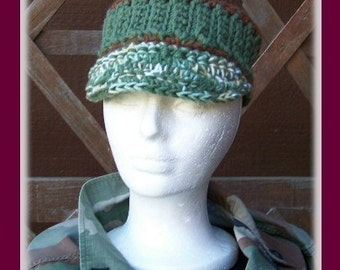 2 GRUNGE HATS to Crochet Patterns by Cindy Kamps