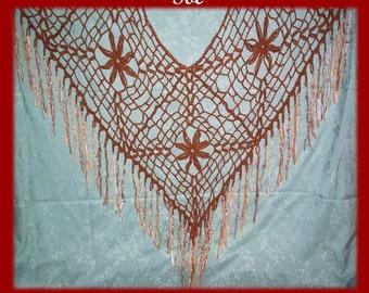 SOL Shawl or Poncho Crochet Pattern