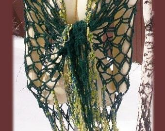 Diamond Back Crochet Shawl Pattern by Cindy Kamps