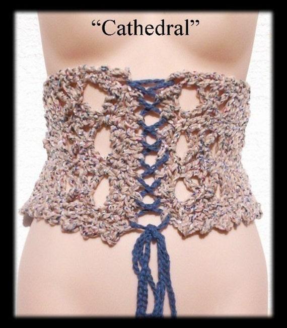 Cathedral Corset Crochet Pattern PLUS Free Bonus