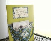 Thank you Tea card