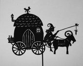 The witch's caravan - Shadow Puppet