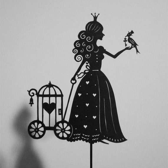 Find me a Prince.../ Laser-cut Shadow Puppet