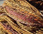 "Handspun Yarn merino blend ""Autumn in New England"" - no charge for shipping in US"
